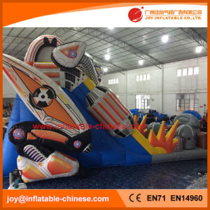 2017 Bouncy Air Bot Inflatable Slide Super Robot Slide (T4-245) pictures & photos