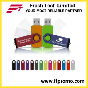 Top-Rated OEM Promotional Gift Swivel USB Flash Drive (D101) pictures & photos