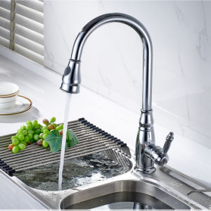 Kitchen Faucet Chrome All Around Rotate Pull out Sink Mixer pictures & photos