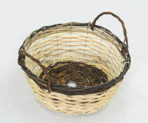 Pure Handmade Floral Basket pictures & photos
