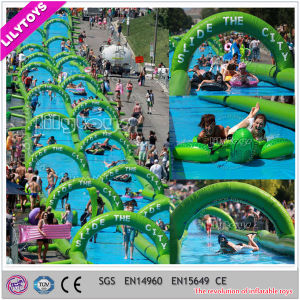 Longest Street Water Slide Inflatable City Water Slide for Sale pictures & photos