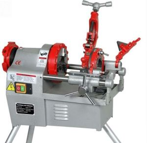 "4"" Steel Pipe Threading Machine"