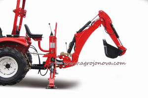 Backhoe Farm Tractor Ce Approved Articulated Bk pictures & photos