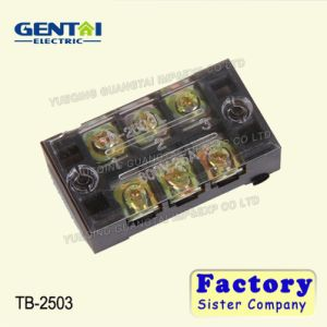 Tb Series Panel Mounted Industrial Fixed Terminal Block pictures & photos