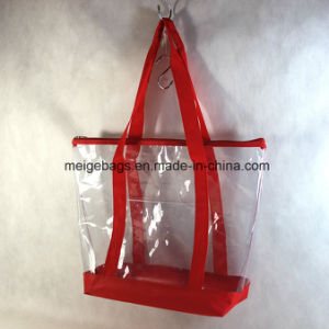 Reusable PVC Shopping Bag, with Custom Size and Design pictures & photos