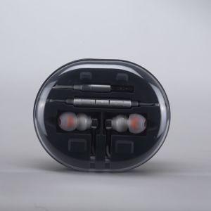 Mobile Phone Accessories! Hi-Fi Earphones Hybrid Dynamic Balanced Armature Dual-Driver Earphones pictures & photos