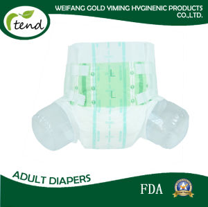 Wholesale Overnight Absorbency Disposable/Adult Nappy/Adult Brief/Adult Diaper for Men and Women/Home/Hospital/Medical/Nursing Home/Magic Tape/PE Film/M/L/XL pictures & photos