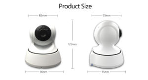 Home Security Systems PTZ WiFi IP Web Camera pictures & photos