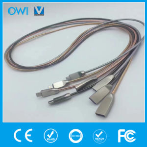 Zinc Alloy Stainless Steel Metal Tube Android Cable pictures & photos