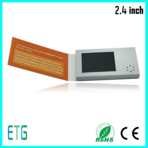"2017 New 2.4"" LCD Video Business Card pictures & photos"