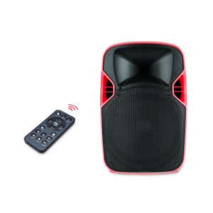 Best Selling Round Professional Wireless Portable Speaker with LED Projector pictures & photos