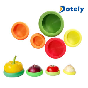 Silicone Reusable Food Savers Storage Covers pictures & photos