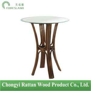 Rattan Wicker Round Table for Bar