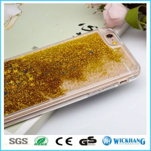Luxury Bling Liquid Sand Hard Phone Case pictures & photos