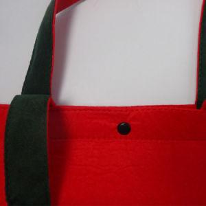 Medium Soft Felt Velvet Tote Bag for Ladies pictures & photos