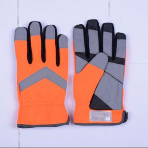 Cut Resistant Leather Work Glove pictures & photos