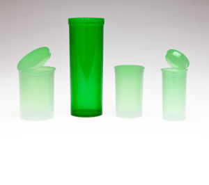 Pop Top Vials Hinged Lid Pet Container pictures & photos