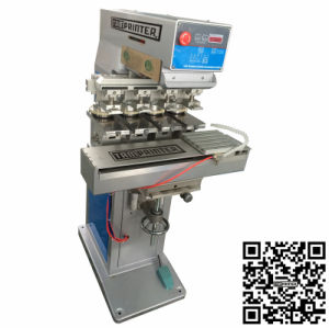 Automatic Pneumatic Carousel Watch Dial 4 Color Pad Printing Machine pictures & photos
