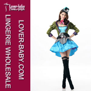 Sexy Mad Hatter Costume L15499 pictures & photos
