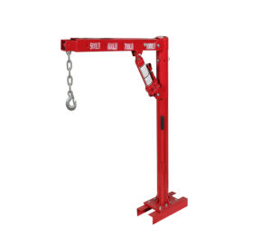 2000lb Hydraulic Swivel Foldable Truck Crane with Winch pictures & photos