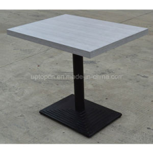 Commerical Rectangle Wood Top Restaurant Table for Dining (SP-RT395) pictures & photos