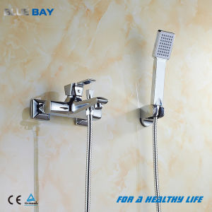 Polished Chrome Finish Brass Bathroom Shower Faucet Set pictures & photos