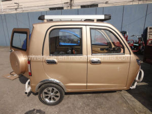 125cc 150cc Golden Color Passenger Tricycle with Five Doors pictures & photos