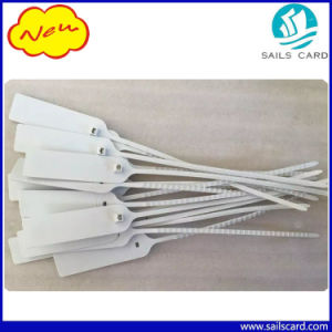 White Color 13.56MHz Plastic RFID Cable Tie Tag pictures & photos