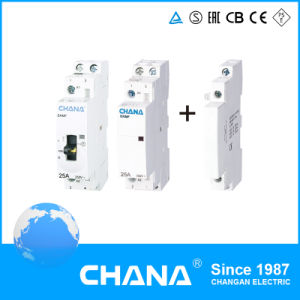 Ce and RoHS Approval AC Electric Type Household 4p Modular Contactor pictures & photos