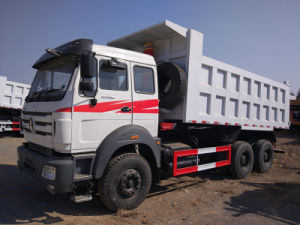 North Benz Ng80 6X4 Diesel Engine 40ton Tipper Truck pictures & photos