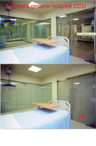 Smart Switchable Glass (PDLC Glass) for Office Partition / Hospital Ccu Ward pictures & photos