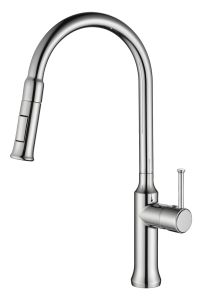 Classic Timeless Single Hand Kitchen Faucet (ZF110L-C) pictures & photos