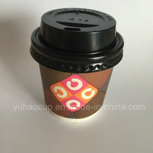 Brown Kraft Paper Double Wall Cup for Hot Drink pictures & photos