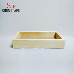 Creative Wooden Planter Small Wooden Planters for Succulent Plant pictures & photos