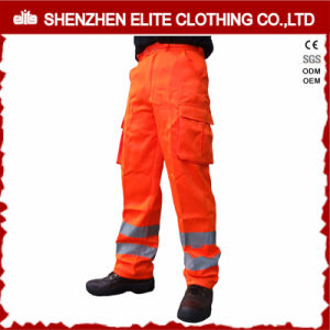 High Visibility Fluorescent Orange Work Pants Supplier pictures & photos