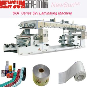 Bgf Series BOPP Film Dry Laminating Machine pictures & photos