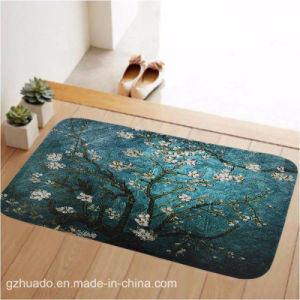 59*39cm Rectangle Carpet Non-Slip Water Absorption Mat for Bedroom Parlor Living Room Home Supplies pictures & photos