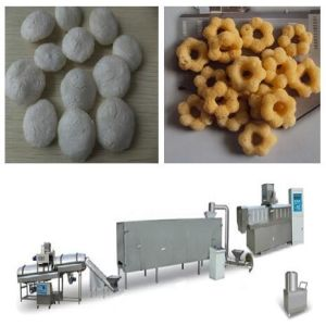 Ss304 Hot Sell Corn Puff Snack Production Line pictures & photos