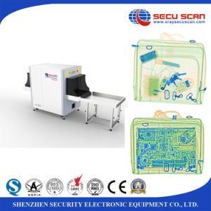 Hotel Building X ray Baggage Scanner AT6040 for handbag inspection pictures & photos