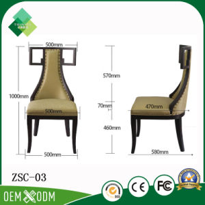 New Model Design Hotel Furniture Chair Used on Restaurant (ZSC-03) pictures & photos