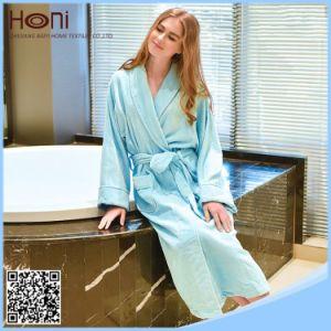 Women Plain Bathrobe, 100% Cotton Women Bathrobe pictures & photos