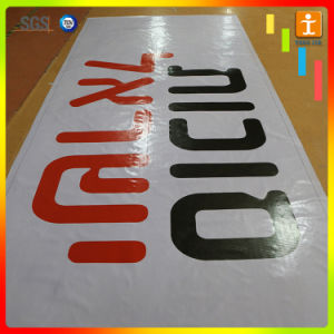 Custom Outdoor Hanging PVC Poster Banner with Eyelets pictures & photos