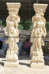 Marble Statue Column Stone Column Mcol-017 pictures & photos