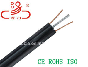 Telephone Cable Fig8 Drop Wire Idsl/Computer Cable/ Data Cable/ Communication Cable/ Connector/ Audio Cable/Drop Wire/Linan Cable pictures & photos