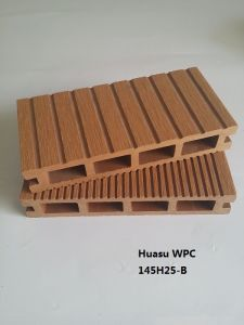 145*25 mm Decking Made of WPC Polymer Composite pictures & photos
