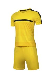 Yellow Soccer Kits and Shorts pictures & photos