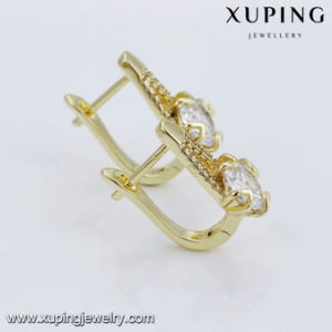 94280 Fashion Luxury Women Zircon Earring Clip on Promotion Sale pictures & photos