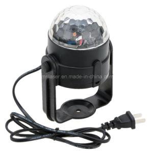 LED RGB 3 *1W Mini LED Magic Ball Light Wholesale Mini Stage Light Party Light pictures & photos