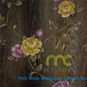 3D Vinyl Wallpaper/PVC Wallpaper/Flower design pictures & photos