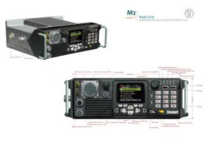 Manpack Military Radio, P25 Mobile Radio in 30-88MHz /50W pictures & photos